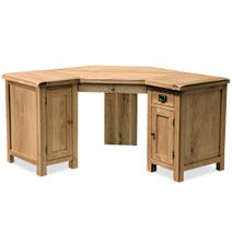 Aylesbury Oak Corner Desk