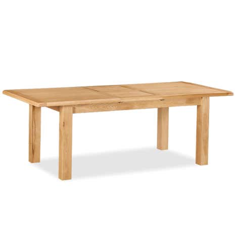 Aylesbury Oak Small Extendable Dining Table