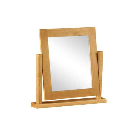 Harrogate Oak Vanity Mirror