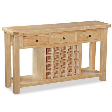 Harrogate Oak Open Sideboard