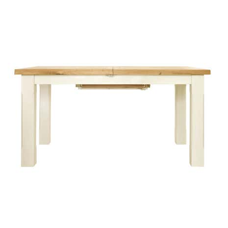 Salcombe Ivory Extending Dining Table