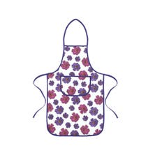 Mulberry Flower Padded Apron