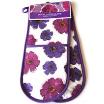 Mulberry Flower Double Oven Glove