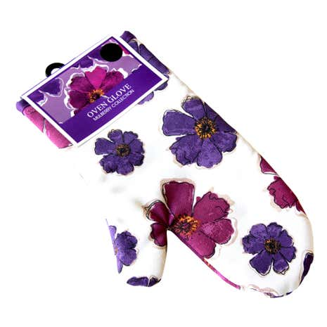 Mulberry Flower Single Oven Glove