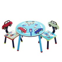 Kids Beep Beep Play Table and Chairs