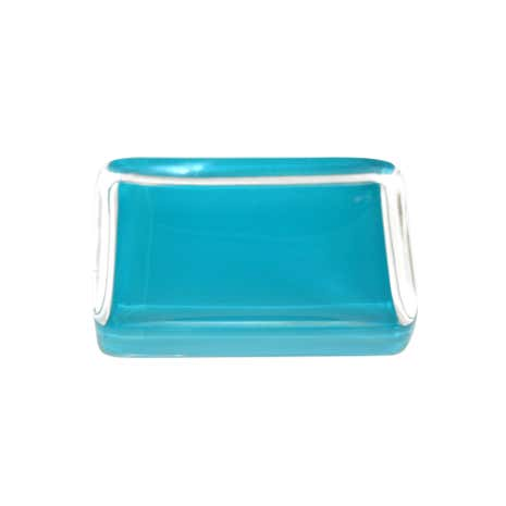 Teal Brights Soap Dish