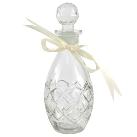 Vintage Teardrop Glass Perfume Bottle