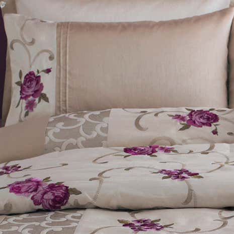 Plum Juliet Housewife Pillowcase