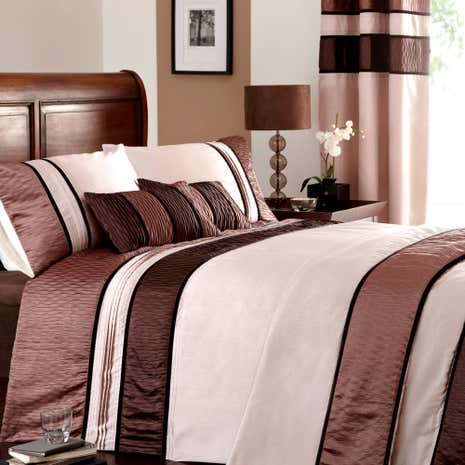 Manhattan Mocha Duvet Cover