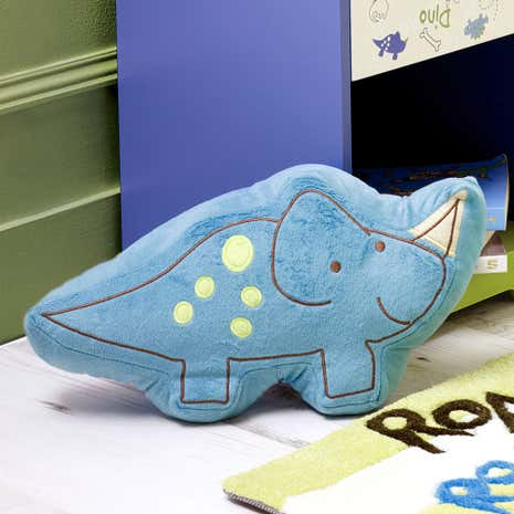 Kids Roaring Dino 3D Cushion
