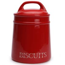Red Country Biscuit Canister