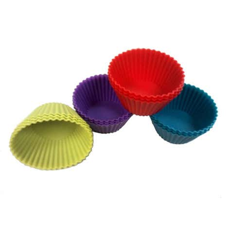 Silicone Pack of 12 Cupcake Cases