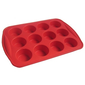 Silicone 12 Hole Bun Sheet
