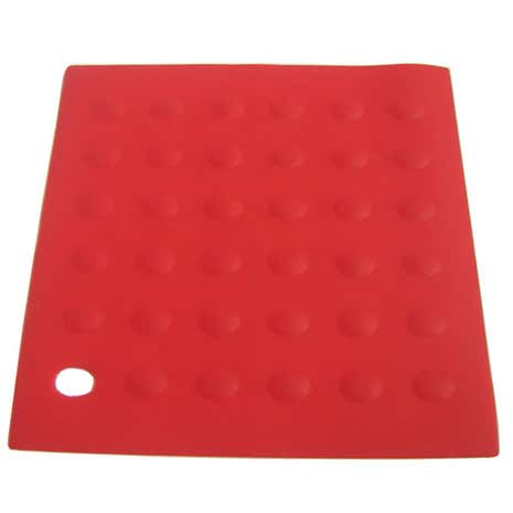 Red Silicone Trivet