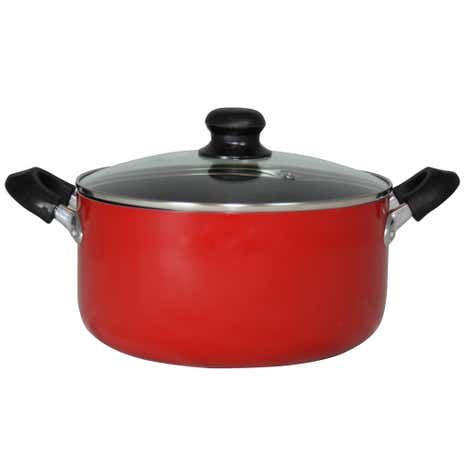 Red Spectrum Aluminium Stock Pot