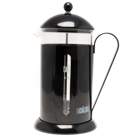 Rainbow 8 Cup Black Cafetiere