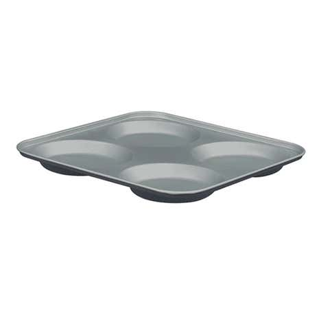Cookshop 4 Cup Yorkshire Pudding Tray