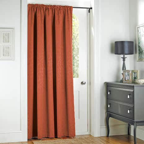 Terracotta Toledo Thermal Door Curtain