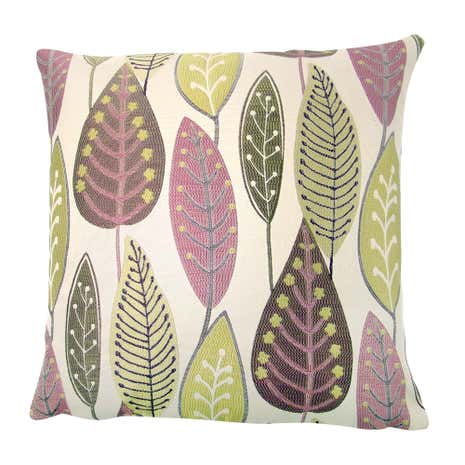 Lilac Leaf Cushion Cover