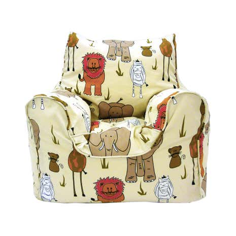 Kids Safari Bean Chair