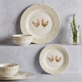 Henrietta 12 Piece Dinner Set