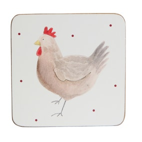 Henrietta Set of 4 Coasters