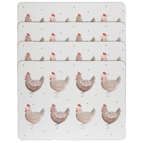 Henrietta Set of 4 Placemats