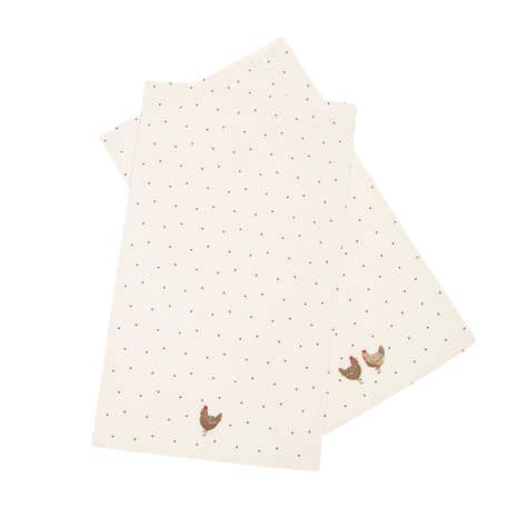 Henrietta Pack of 2 Tea Towels
