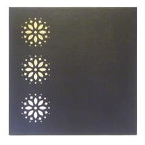 Brown Moroccan Set Of Four Placemats