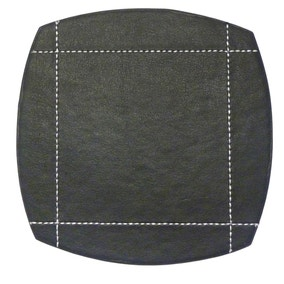Black Pausa Set of 4 Coasters