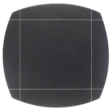 Black Pausa Set Of 4 Placemats