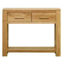 Seville Oak Console Table