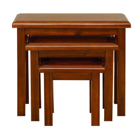 Winchester Acacia Dark Wood Nest of Tables