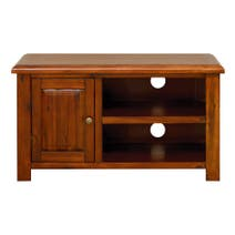Winchester Acacia Dark Wood TV Unit
