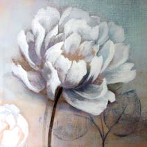 Peony Printed Canvas