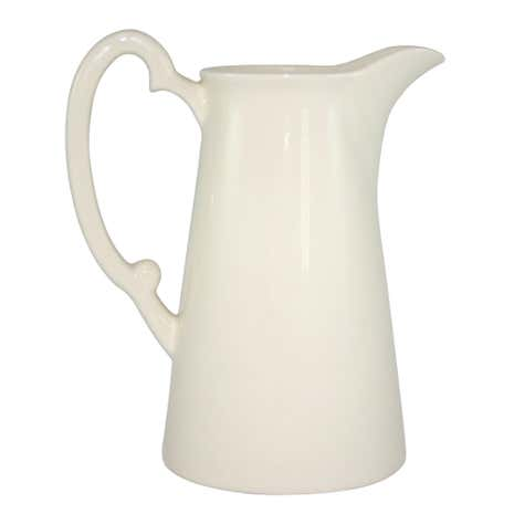 Ruby Cream Fluted Jug
