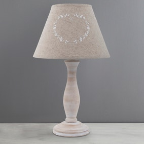 Charlbury Linen Table Lamp