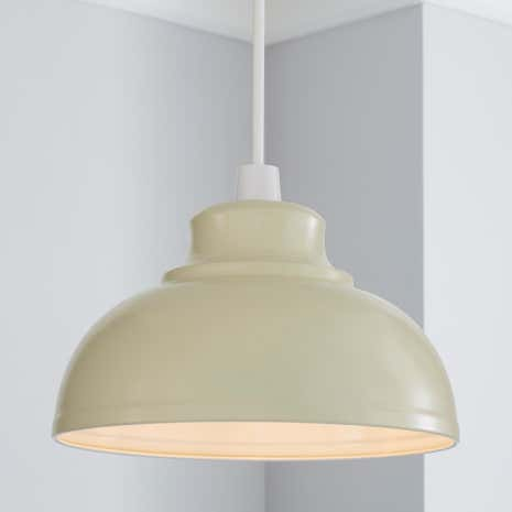 Cream galley pendant