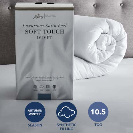 Fogarty Soft Touch 10 5 Tog Duvet Dunelm