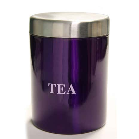 Purple Spectrum Tea Canister