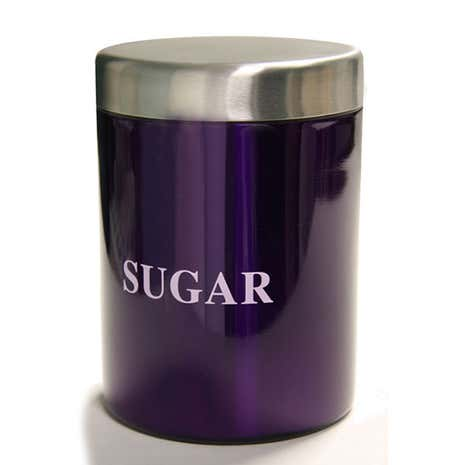 Purple Spectrum Sugar Canister