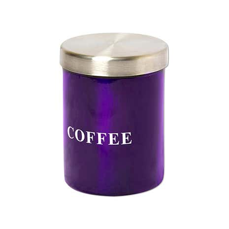 Purple Spectrum Coffee Canister