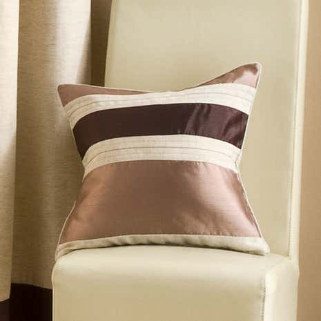 Chocolate Alban Cushion