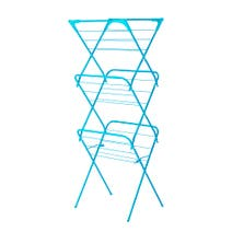 Teal Spectrum Slim 3 Tier Airer