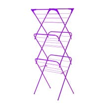 Purple Spectrum Slim 3 Tier Airer