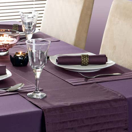 Purple Spectrum Table Runner