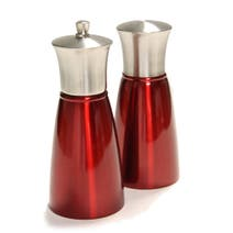 Red Spectrum Salt and Pepper Mill Set