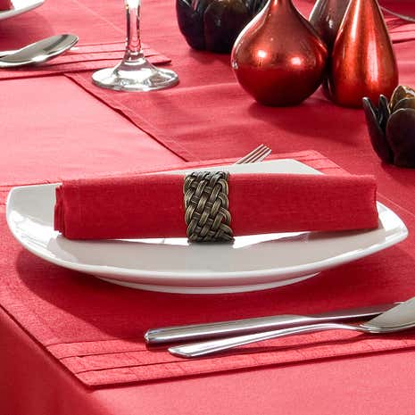 Red Spectrum Pack of 4 Napkins