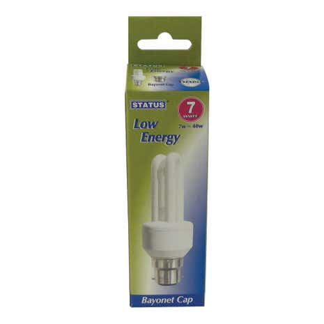 Status Energy Saving 7 Watt Stick Bulb