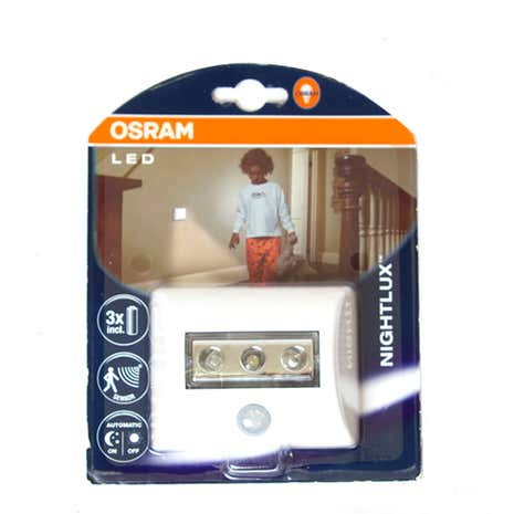 osram nightlux motion sensor light dunelm. Black Bedroom Furniture Sets. Home Design Ideas